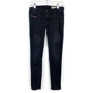 Diesel Grupee Super Slim Skinny Jeans 27 *Note